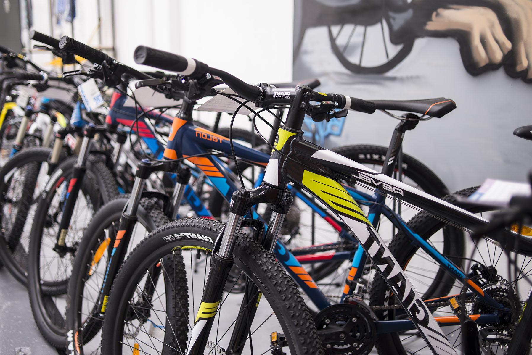 bicicletas giant bikes en perspectiva